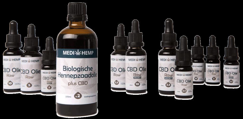 CBD Biologische oliën