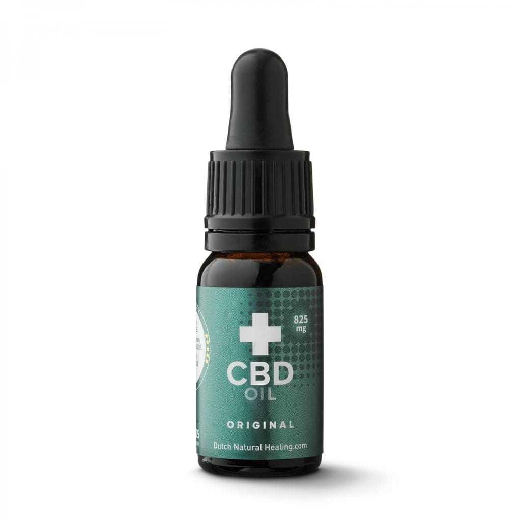 CBD olie van Dutch Natural Healing full spectrum goede cbd olie