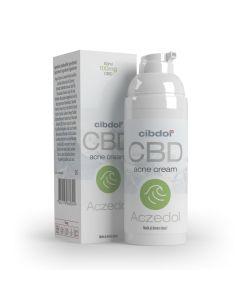 Aczedol CBD Acne Creme 50ml Cibdol - verpakking