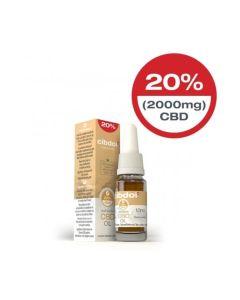 CBD Hennepzaadolie 20% 2000mg 10ml Cibdol - overzicht
