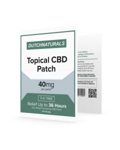 CBD pleister 36 uur afgifte Dutch Natural Healing