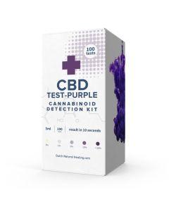 CBD testerkit testset voor CBD sterkte 100+ testen doosje