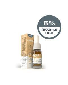 CBD Hennepzaadolie 5% 500mg 10ml Cibdol - overzicht